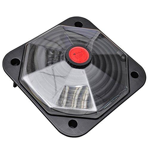 vidaXL Solar Poolheizung Solarheizung Solarkollektor Heizung Schwimmbad 735 W