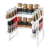 KREHMANN Gewürzregal Stackable Storage System, Küchenregal zur platzsparenden Aufbewahrung, praktischer Organizer für den Küchenschrank