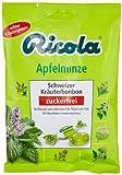 Ricola Apfelminze Schweizer Kräuterbonbons ohne Zucker, 75 g