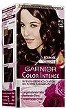 Garnier Color Intense, 4.15 Schokobraun, ntensive Creme Coloration Bis Zum 100% Grauabdeckung mit Rosen Öl, 3er Pack