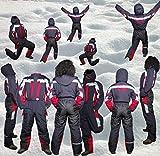 Moderei Auswahl an Schneeanzug | Schneeoverall Skianzug | Skioverall Snowboard Unisex | Jungen | Mädchen | Herren | Damen Schneeanzug Hauptfarbe-Schwarz (Schwarz, 146) …
