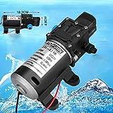 12V 100W 8L/Min Pumpe Hochdruckpumpe Membranpumpe Automatisch Wasserpumpe