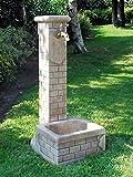 Standbrunnen BETTY H 80 Farbe weiß antik