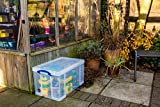 Really Useful Box 84C 84 Liter Box Transparent 710x440x380 mm PP