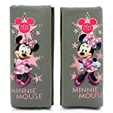 Disney Minnie MINNIE102 Sicherheitsgurt Cover Schulterpolster, Grau, Set of 2