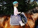 Voltigiergurt 119-143 cm 2 Fußschlaufen Gurt voltigieren Reithilfe Reitgurt a.f. Holzpferd Mini Shetty Shetty Pony VB WB/KB HIER Shetty