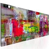 murando - Bilder 135x45 cm - Leinwandbilder - Fertig Aufgespannt - Vlies Leinwand - 1 Teilig - Wandbilder XXL - Kunstdrucke - Wandbild - Abstrakt a-A-0217-b-b