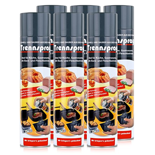 Boyens Trennspray 600ml Dose ( 6er Pack ) Trennfett Grillspray Backtrennmittel