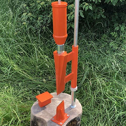 Forest Master Smart Splitter Holzspalter manuell Typ FMSS Holz Handspalter Log Spalter Brennholzspalter