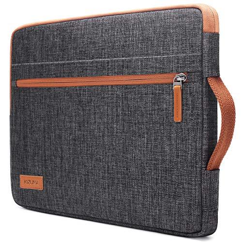 KIZUNA Laptop Tasche 14 Zoll Hülle Wasserdicht Notebook Sleeve Case Bag Für 14' Lenovo Flex 4/Thinkpad L480 T490s/Ideapad 120s/15.6' Thinkpad T590/HP ProBook 640 645 G4/Dell Latitude 5490 7490, Braun