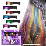 BATTOP 6PCS Haarkreide Kamm temporäre helle Haarfarbe Creme für Mädchen Kinder Geschenke