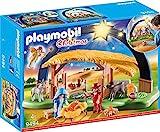 PLAYMOBIL 9494 Spielzeug-Lichterbogen Weihnachtskrippe, Unisex-Kinder