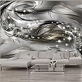 murando - Fototapete Abstrakt 400x280 cm - Vlies Tapete - Moderne Wanddeko - Design Tapete - Wandtapete - Wand Dekoration - Diamant a-A-0168-a-d