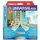 Fensterdichtung Dichtungsbänder Thermoplastik Dichtungen Transparent Selbstklebend EVO 9x7x3000mm Universal