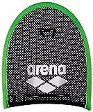 Arena Erwachsene Trainingshilfe Netzstoff Handpaddles, Acid lime_black, M