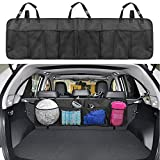Kofferraum Organizer, Infreecs Auto Organizer mit großen Netz-Taschen   Sitztasche   Auto Aufbewahrungstasche   Rücksitz Organizer   Auto-Sitztasche für mehr Ordnung und Platz in Ihrem Kofferraum