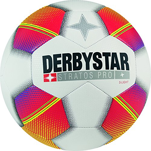 Derbystar Stratos Pro S-Light, 3, weiß rot gelb, 1129300135