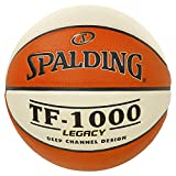 Spalding Tf1000 Legacy Ball Basketball, orange/Weiß, 7