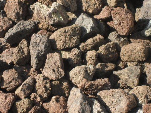 10 kg Grill Lava Steine 32-56 mm - Gasgrill Elektrogrill Lavastein Lavasteine Kies Kiesel Aquarium - LIEFERUNG KOSTENLOS