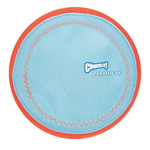 Chuckit CU221301 Paraflight, Hundespielzeug, schwimmende Frisbee und Lenkrad, L