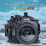 Sea Frogs 130 Feet/40 Meter Unterwasser Kamera Gehäuse wasserdichtes Gehäuse für Sony A7 II/A7R II