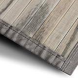 Bambusteppich Magenta (Natur) | für Bad und Wohnzimmer | natürlich wohnen mit 100% echtem Bambus | Bambusmatte in vielen Größen (50x80 cm)