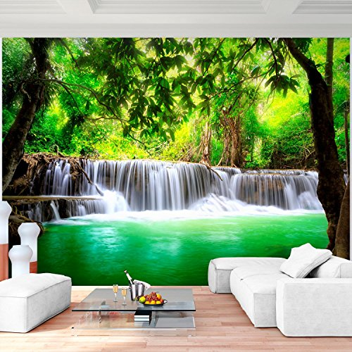 SENSATIONSPREIS !!! Vlies Fototapete Wasserfall 352x250 cm - 9006011a RUNA Tapete