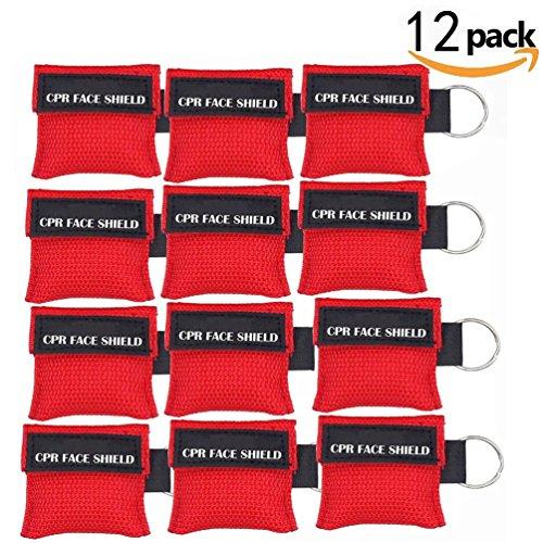 CPR maske schlüsselanhänger LSIKA-Z 12 Stück RESPI-Key Beatmungsmaske