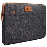 KIZUNA Notebook Tasche 14 Zoll Laptop Hülle Sleeve Bag Laptoptasche Für 14' Lenovo Flex 4/Thinkpad L480 T480s/Chromebook S330/HP ProBook 640 645 G4/ProBook 440 G6/Dell/Asus, Braun
