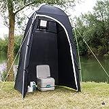 Siehe Beschreibung Mobiles Toilettenzelt oder Duschzelt ideal für den Campingurlaub, Strand und Garten • Aufbewahrung Camping Toilette Zelt Dusche Beistellzelt