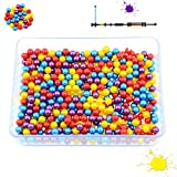 PREDATOR Paintball-Kugeln, Cal. 0.40 für Blasrohr und Paintball-Markierer mit Kalieber .40 , Premium Paintballs + 200, 500 & 1000 Stück (500 Stück)