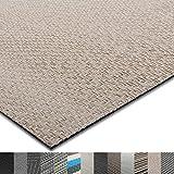 casa pura Indoor- und Outdoor-Bodenbelag Verona | kunstvoll gewebt | als Teppich oder Läufer | 40 Größen (180x300cm)