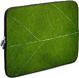 Sidorenko Laptop Tasche für 15-15,6 Zoll   Universal Notebooktasche Schutzhülle   Laptoptasche aus Neopren, PC Computer Hülle Sleeve Case Etui, Grün