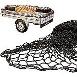 Anhängernetz mit befestigung Rundknöpfen 20St von all-around24 (125 x 210cm bis 200 x 300 cm)