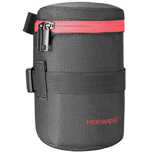 Neewer NW-L2040-R tragbare dicke Gepolsterte Schutzwasser-beständige dauerhafte Nylon-Objektiv-Beutel-Tasche für 18-300MM Objektiv, wie Canon 100MM 70-300lS 75-300 und Nikon 55-300 28-300 105VR 70-300