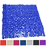 TP-Products Badteppich für Dusche oder Badewanne (PVC), Design Pebble