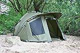 CampFeuer - Angelzelt 'Storm', 2-Mann Karpfenzelt für Angler, Bivvy