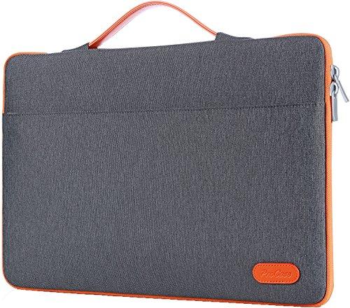 ProCase 14-15.6 Zoll Hülsen-Abdeckungs-Tasche, Ultrabook Notebook Tragetasche Handtasche für 14'15' Samsung Sony ASUS Acer Lenovo Dell HP Chromebook Computer -Dunkel Grau