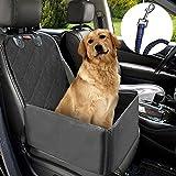 Hunde Autositz MATCC Sitzbezug für Vordersitz Wasserdicht Hund Autositzbezug Autositz Für Haustier Abriebfest Hund Sitzbezug Autoschutzdecke Hunde Auto Hundedecke Hunde Autoschondecke (45*45*58cm)