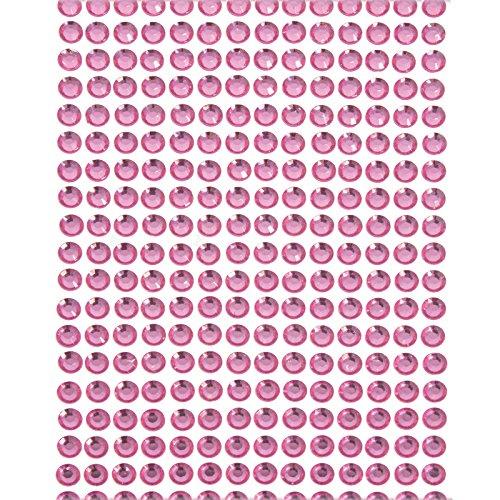 Smartfox Acryl-Strasssteine - Versch. Farben und Größen - Selbstklebend