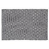 Sealskin Badteppich Trellis, schwarz, 90 x 60 cm