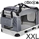Deuba Hundetransportbox CADOCA Faltbar - Größe XXL