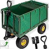 Kesser Bollerwagen 550kg Transportwagen Gartenwagen Gerätewagen Handwagen NEU