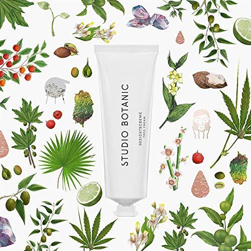 Studio Botanic Gesichtcreme 50 ml – für Tag und Nacht – 100% Rein Natürlich – Zertifizierte Vegane Naturkosmetik