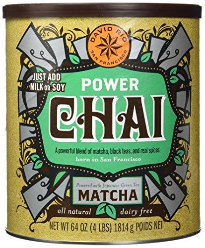 David Rio - Power Chai mit Matcha, Pappwickeldose (1 x 1.814 kg)