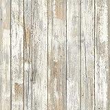 Holz Klebefolie Möbelfolie Holzoptik Aufkleber für Möbel Küche Küchenschrank Wand Vinyl Folie Selbstklebend Stil 45X200cm