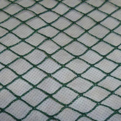 Aquagart Teichnetz, 8m x 6m, dunkelgrün, engmaschig: Maschenweite 15mm x 15mm, Laubnetz, Teichabdecknetz, Vogelabwehrnetz, Reihernetz robust