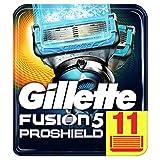 Gillette Männer Fusion5 ProShield Chill Rasierklingen, 1er Pack (1 x 11 Stück)