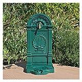 CLGarden Standbrunnen WZS5 Wasserzapfstelle Wandbrunnen Wasserhahn für Garten