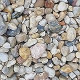 24 Kg Zierkies Gartenkies Teichkies Quarzkies Buntkies Kieselsteine Waschkies Bunt 8-16 mm